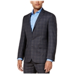 Ryan Seacrest Distinction Mens Plaid Modern-Fit Two Button Blazer Jacket