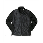 Reebok Mens Patterned Fleece Jacket