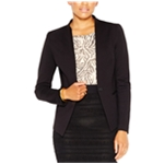 Rachel Roy Womens Collarless One Button Blazer Jacket
