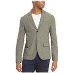 Kenneth Cole Mens Knit Two Button Blazer Jacket