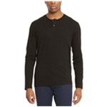 Kenneth Cole Mens Textured Henley Shirt