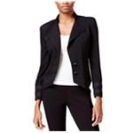 Rachel Roy Womens Angled Military Blazer Jacket