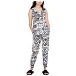Rachel Roy Womens Printed Jumpsuit