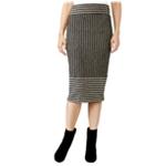 Rachel Roy Womens Striped Pencil Skirt