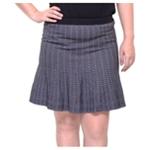 Rachel Roy Womens Striped A-line Skirt