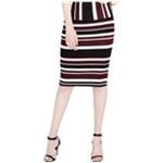 Rachel Roy Womens Jacquard Pencil Skirt