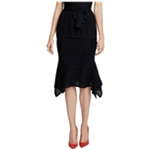 Rachel Roy Womens Knit Asymmetrical Skirt