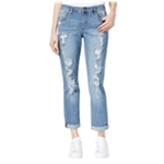 Rachel Roy Womens Whiskered Slouchy Fit Jeans