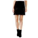 Rachel Roy Womens Velvet A-line Skirt