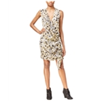 Rachel Roy Womens Faux Wrap Dress