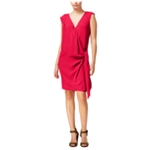Rachel Roy Womens Solid A-line Dress