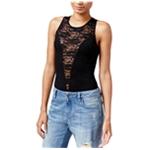 Rachel Roy Womens Lace-Inset Bodysuit
