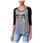 Rachel Roy Womens New York City Graphic T-Shirt