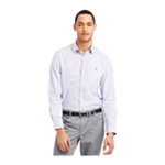 Kenneth Cole Mens Check Pocket Button Up Dress Shirt