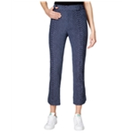 Rachel Roy Womens Textured Reptile Casual Trousers