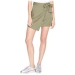 Rachel Roy Womens Utility Pocket Wrap Skirt
