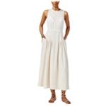 Rachel Roy Womens Pleated Lace Maxi Dress