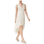Rachel Roy Womens Textured A-line High-Low Dress