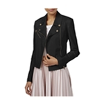Rachel Roy Womens Asymmetrical Motorcycle Jacket