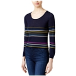 Rachel Roy Womens Striped Knit Sweater