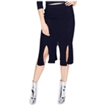 Rachel Roy Womens Knit Pencil Skirt