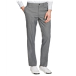 Kenneth Cole Mens Mini-Check Casual Trousers