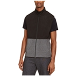 Kenneth Cole Mens Mesh-Layer Sweater Vest