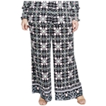 Rachel Roy Womens Floral Casual Trouser Pants