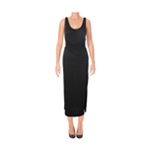 Rachel Roy Womens Front Tie Maxi Dress