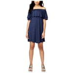 Rachel Roy Womens Ruffled Shift Dress