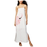 Rachel Roy Womens Watercolor Shift Dress