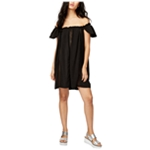 Rachel Roy Womens Crochet A-line Dress