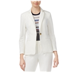 Rachel Roy Womens Professional One Button Blazer Jacket