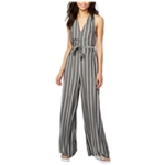Rachel Roy Womens Striped Jumpsuit