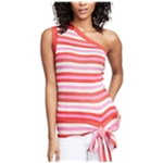 Rachel Roy Womens Striped One Shoulder Blouse