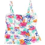 Island Escape Womens Sweetheart Tankini Swim Top