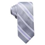 Ryan Seacrest Distinction Mens Imperial Stripe Self-tied Necktie