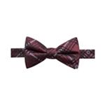 Ryan Seacrest Distinction Mens Plaid Bow Tie