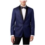 Ryan Seacrest Distinction Mens Microdot Dinner One Button Blazer Jacket