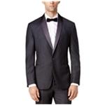 Ryan Seacrest Distinction Mens Flannel One Button Blazer Jacket