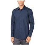 Ryan Seacrest Mens Grid Print Button Up Shirt