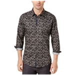 Ryan Seacrest Distinction Mens Printed Button Up Shirt
