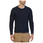 Nautica Mens Cable Knit Pullover Sweater