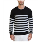 Nautica Mens Betron Striped Pullover Sweater