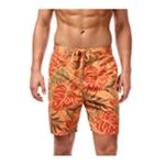 Weatherproof Mens Vintage Tropical Swim Bottom Board Shorts