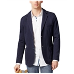Ryan Seacrest Distinction Mens Textured Two Button Blazer Jacket