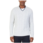 Nautica Mens Cable Pullover Sweater