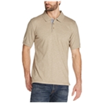 Weatherproof Mens SS Melange Rugby Polo Shirt