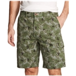 Weatherproof Mens Printed Casual Cargo Shorts