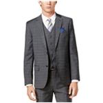 Ben Sherman Mens Windowpane Two Button Blazer Jacket
